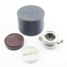FED Rare F4.5/28mm Lens Fed Zorki Leica EXCELLENT BOX