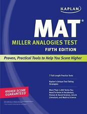 Kaplan Test Prep: Kaplan MAT by Kaplan Educational Consultants Staff (2010,...