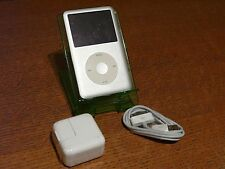 Apple iPod Classic 6th Generation Black 80GB Model A1238 Bundle**