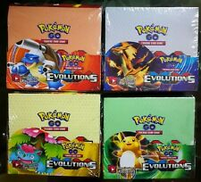 Hot Pokemon Evolutions XY sealed unopened booster box 36 packs of 10 cards