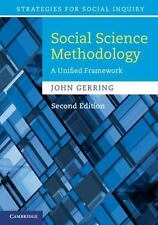 Social Science Methodology: A Unified Framework Strategies for Social Inquiry