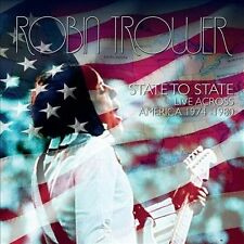 State to State: Live Across America 1974-1980 by Robin Trower (CD, Oct-2013,...