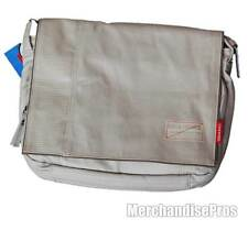 "GOLLA ROCCO 11"" TABLET SMALL LAPTOP MESSENGER BAG LIGHT GRAY NEW!"