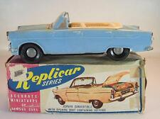 Replicar Series Hong Kong Blech Plastik Ford Zephyr Convertible mit O-Box #1110