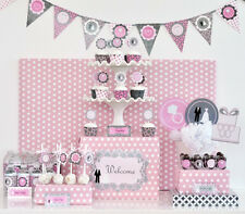 Wedding Bridal Shower Party Decorations Kit - Free US Shipping