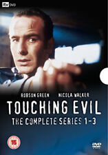 DVD:TOUCHING EVIL COMPLETE SERIES 1-3 - NEW Region 2 UK