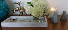 Marble tray - Carrara - Small - with sides