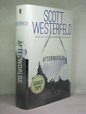1st,signed by author, Afterworlds by Scott Westerfeld (2014)with deleted chapter