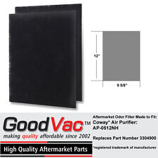 CoWay AP-0512NH Air Purifier Odor Eliminator Carbon Filter Set of 2 Aftermarket