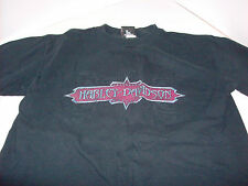 Harley Davidson Naples With Motorcycle T shirt Medium - Authentic HD Merchandise