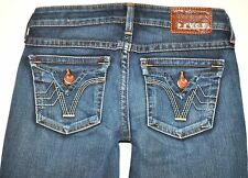 PRVCY Women's Malibu Hills Barely Boot Cut Jeans 26 X 28 3/4 Stretch USA AWESOME
