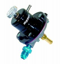 FSE SYTEC SAR 1:1 (Black) 8mm x -6 Jic fuel pressure regulator SAR002BK