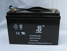 100Ah Amp Hour Battery CLEARANCE ITEM!!! Deep Cycle AGM for Camping Caravan Boat