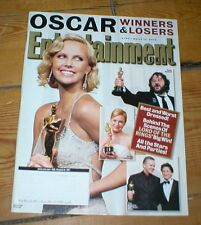 ENTERTAINMENT WEEKLY'04 CHARLIZE THERON Sean Penn Jet Molly Shannon Raquel Welch