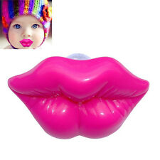 Fun Kiss Lip Baby Boy Girl Infant Pacifier Child Soother Dummy Nipples Pacifiers