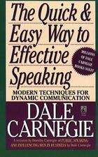 The Quick and Easy Way to Effective Speaking by Dale Carnegie - I send worldwide
