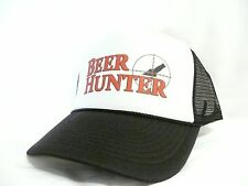 Beer Hunter TRUCKER HAT mesh hat Snap back adjustable New Black