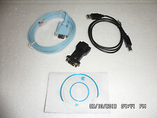 Mr Bill Combo Cisco USB to DB9 Serial Port Adapter plus Console Cable CCNA CCNP