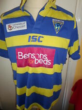 2011-2012 Warrington Wolves Rugby League Home Shirt large adult (21271)