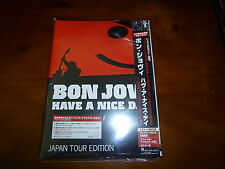 Bon Jovi / Have A Nice Day - Japan Tour Edition JAPAN+6 CD+DVD NEW!!!!!!!