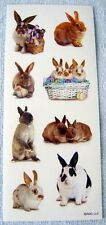 EASTER - BUNNIES - SCRAPBOOKING STICKERS NWOP AMERICAN GREETINGS