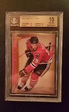 2007-08 Upper Deck Jonathan Toews Young Guns Rookie RC BGS 10 PRISTINE