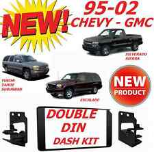 1995-2002 GM FULL SIZE TRUCK & SUV DOUBLE DIN CAR STEREO INSTALLATION DASH KIT