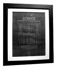 ULTRAVOX+Monument++POSTER+AD+RARE ORIGINAL 1983+FRAMED+EXPRESS GLOBAL SHIP