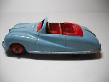 DINKY # 106 BLUE AUSTIN ATLANTIC CONVERTIBLE W/RED CAST HUBS, SOME TOUCH-UPS VG