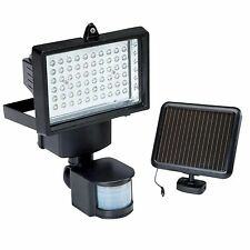 60 LED PIR Motion Sensor Security Floodlight Garden Outdoor Lights Solar Powered