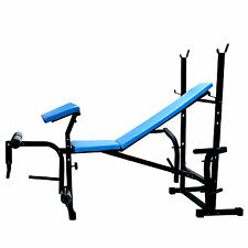 BRAND  NEW   FITFLY  WEIGHT  LIFTING 7 IN  1   BENCH   (BLUE) FOR EXERCISE