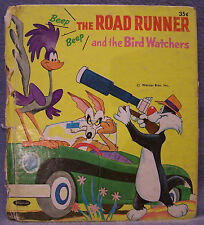 The Road Runner and the Bird Watchers, Whitman Tell-a-Tale, 1968, HC