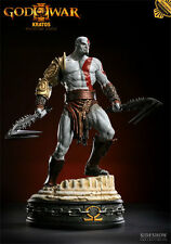 SIDESHOW EXCLUSIVE GOD of WAR KRATOS POLYSTONE STATUE bust Premium Format Figure