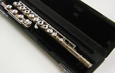 MIYAZAWA Professional Flute Body- No Head, GOLD & Silver Keys, Valued at $18,995