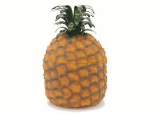 Vintage retro Style Pineapple Ice Bucket with Glass jar Liner BRAND NEW
