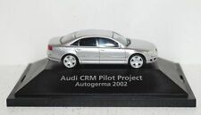 "Herpa AUDI A8 silber ""Audi CRM Pilot Project Autogerma 2002"" 1:87 in PC"
