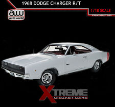 AUTOWORLD AMM1059 1:18 1968 DODGE CHARGER R/T 2015 CHRISTMAS ISSUE #2
