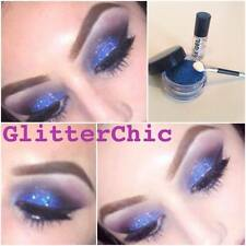 Glitter Eyes shadow Holographic Blue Fix Gel and Application Wand Loose Glitter