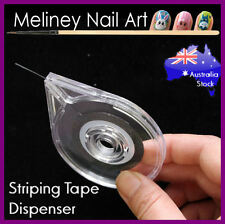 Striping Tape Dispenser Case Box Holder Nail Art Tool Lines Manicure