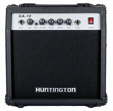 Huntington Guitar Amplifier 10 Watts Controls Gain, Volume, Treble, Middle, Bass