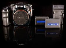 Sony Alpha a100 10.2 MP Digital SLR Camera - Black (Body Only)
