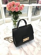 100% Autentico Furla metopolis JULIA MINI CROSSBODY IN NERO