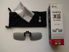 New LG Clip On FPR type 3D glasses AG-F420 AGF420