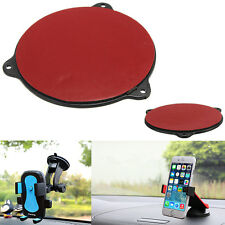 Car Cradle Holder Mount GPS Adhesive Dash Board Suction Disc Disk Sticky Pad