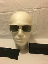 MARC By Marc Jacobs White Wayfarer Unisex Sunglasses MMJ 096/Rubber IP5/R3