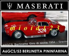 1/43 - Maserati 100 Years Collection : A6GCS/53 BERLINETTA PININFARINA [1954]