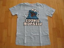 Logoshirt T-Shirt Cookie Monster  Gr. M  blau kurzarm 100% Baumwolle Neu