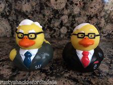 Berkshire Hathaway Warren Buffett & Charlie Munger Rubber Duckies - Rubber Ducks