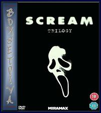 SCREAM - TRILOGY - SCREAM 1 2 & 3  **BRAND NEW DVD * **
