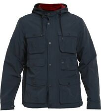 Men's Element Fountain Navy Windcheater Spray Jacket, Size S. NWT, RRP $139.99.